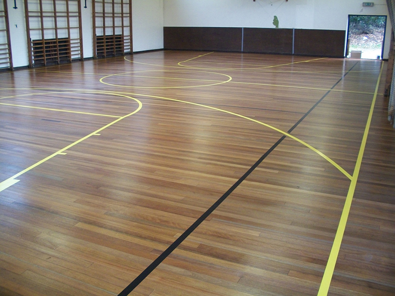 school hall - Line Marking